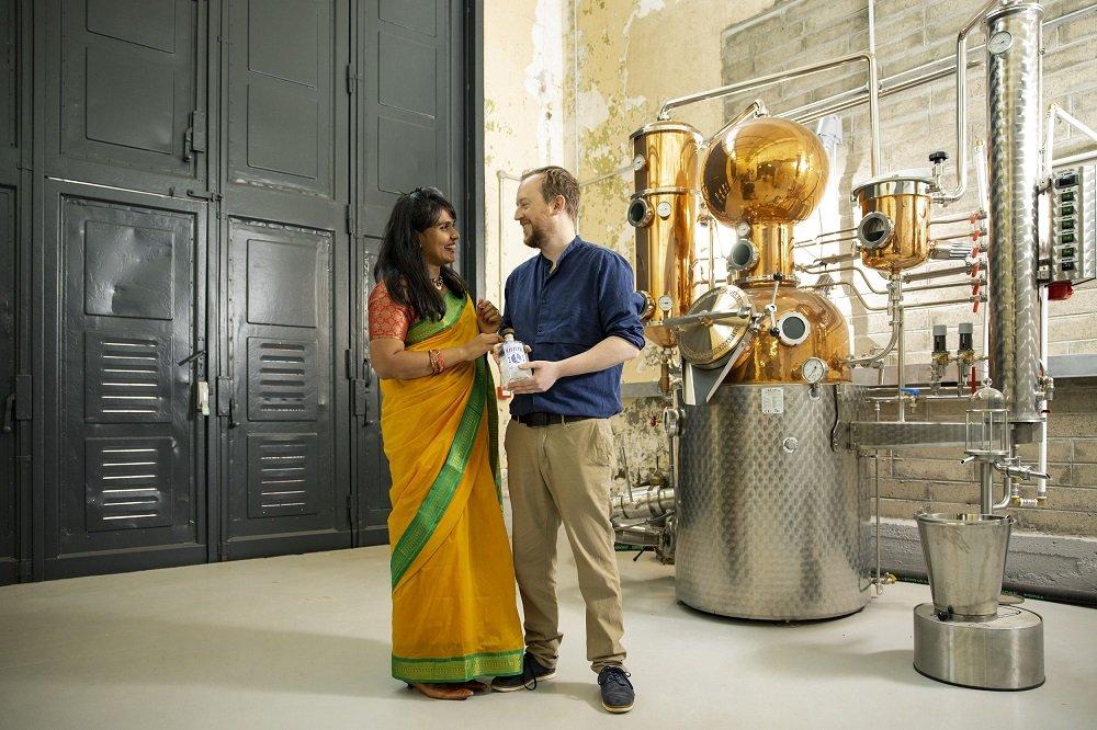 Robert & Bhagya Barrett, Maharani Gin, Rebel City Distillery